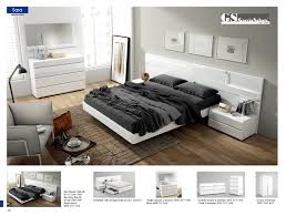 King Platform Bed With Drawers by Esf Furniture Sara King Platform Bed In White