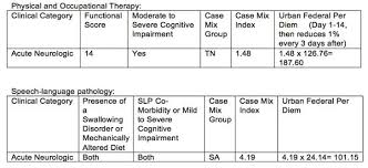 Rug Iv Classification System Rcs I Where Will Your Rehab Patients Fall Mcknight U0027s Long Term