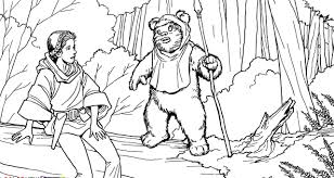 princess leia coloring pages paginone biz