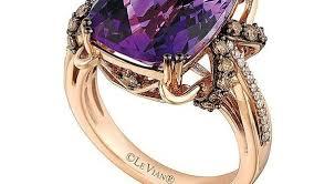 amethyst gold rings images Womens purple diamond ring england wedding promise diamond jpg
