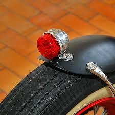 bicycle rear fender light light rear fender mounted tail light led kikker 5150 hardknock