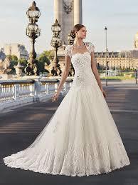 robe de mari e chagne the 2018 pronuptia collection bridal gowns bohemian chic wedding