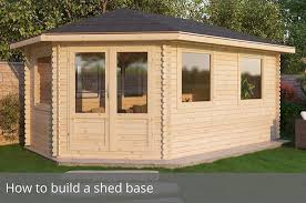How To Build A Shed Base Out Of Wood by How To Build A Shed Base Waltons Blog Waltons Sheds