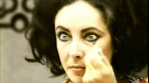elizabeth taylor makes up her eyes youtube
