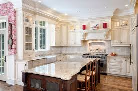 Traditional White Kitchens - alaska white granite countertops design cost pros and cons