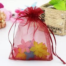 wholesale organza bags wholesale 500pcs lot organza bags 17x23cm big wedding