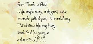 quotes about giving thanks for 33 quotes
