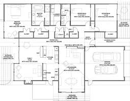House Plans With Vaulted Great Room by Modern Style House Plan 3 Beds 2 00 Baths 2587 Sq Ft Plan 438 1