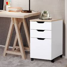 Home Office Filing Cabinet 3 Drawer Rolling Filing Cabinet File Storage Organizer Home Office