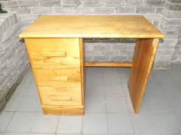 Small Wood Desk Solid Wood Study Desk Secondhand Pursuit