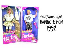 Barbie Style Doll Reviews And by 1992 Hollywood Hair Barbie And Ken Retro Doll Reviews Jason
