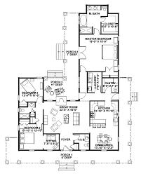 Single Storey House Plans Single Story Farmhouse Floor Plans Luxihome