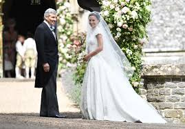 pippa middleton channels kate with her wedding look