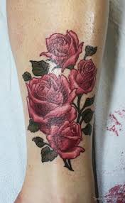 23 best rose ankle band tattoos images on pinterest roses