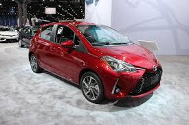 the 2018 toyota yaris debuts in new york ecolodriver