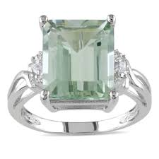 green amethyst engagement ring amethyst rings shop the best deals for nov 2017 overstock