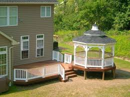 Best Decks Images On Pinterest Backyard Ideas Gazebo Ideas - Gazebo designs for backyards