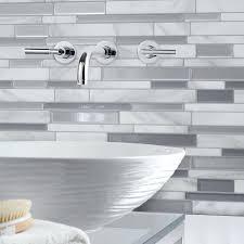 Harlequin Backsplash - tiles white subway tile backsplash black counter milano white