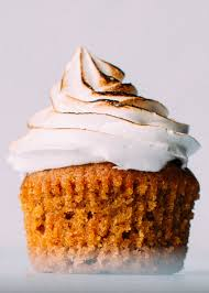 sweet potatoes thanksgiving marshmallows moist tender sweet potato cupcakes with the fluffiest toasted