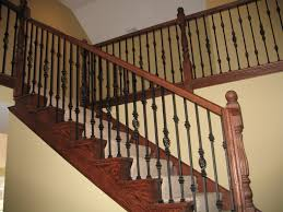 Cheap Banisters Decorating Best Way To Make Your Stairs Safety With Lowes Stair