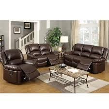 abbyson living bradford faux leather reclining sofa dark brown 88 best motion sofa set images on pinterest living room set