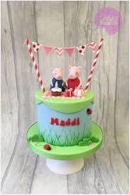 25 parasta ideaa pinterestissä peppa pig birthday cake peppa pig