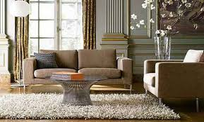 sloped ceiling interior design living room with corner fireplace