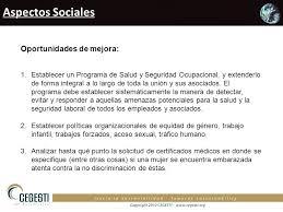 a oport de si e social resultados de la evaluación ppt descargar