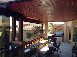 Custom Fire Pit Covers by Custom Deck Patio Cover Custom Fire Pit Built In Grill Colorado