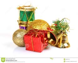 gifts and decoration items stock photography image