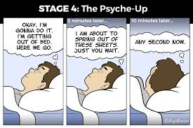 Getting Out Of Bed The 6 Stages Of Getting Out Of Bed In The Morning Collegehumor