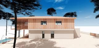 piscine sur pilotis construction d u0027une maison sur pilotis au pyla mcc construction