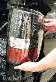 Vintage Ford Truck Tail Lights - 2007 ford f150 upgrades euro headlights and tail lights