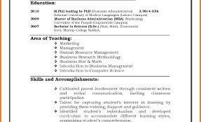 100 free teacher resume templates microsoft word teacher