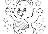 rainbow heart summer bonfires care bears activity ag kidzone