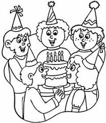 party hats colouring party vocabulary holidays