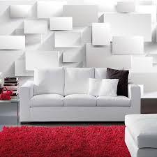 modern 3d large mural wallpaper living room sofa box 3d cube