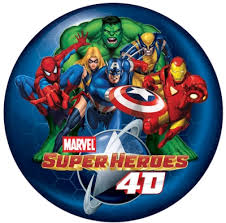 marvel super heroes 4d