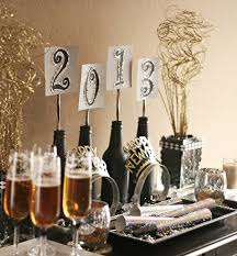 Gold New Years Decorations by A Table To Get You Through The New Year Fence Row Furniture