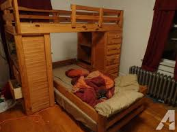 Bunk Beds With Built In Desk Desk Bunk Bed With Built In Dresser And Room Wooden T Beds