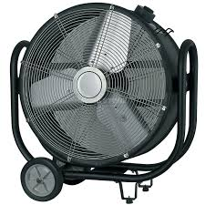 showtec sf 150 axial touring fan ventilator schuko on wheels