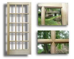 15 Lite Exterior Door Oak Exterior Door 15 Lite 36 X 80 Slab Only Home Surplus