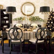 Ideas For Christmas Centerpieces - dining room festive christmas dinner table decorating ideas to