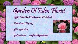about garden of eden palm coast fl florist