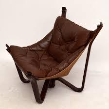 Armchair For Sale Retro Scandinavian Chair Danish Retro Leather Armchair For Sale