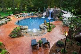 free form pools 10 freeform pools that perfectly adapt to your landscape