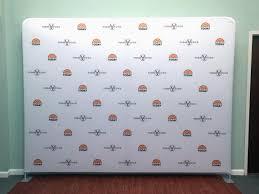 step and repeat backdrop 10ft step and repeat tension fabric media backdrop
