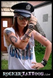 combo axl u0026 slash inspired temporary tattoos u2013 online store
