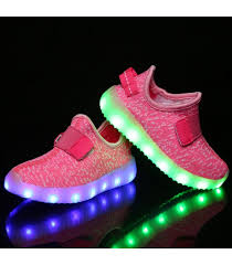 led light up shoes for boys light up shoes purple pink trainerssale