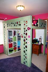 Girls Bedroom Carpet Bedroom Large Teen Wooden Loft Bed With Storage And Desk